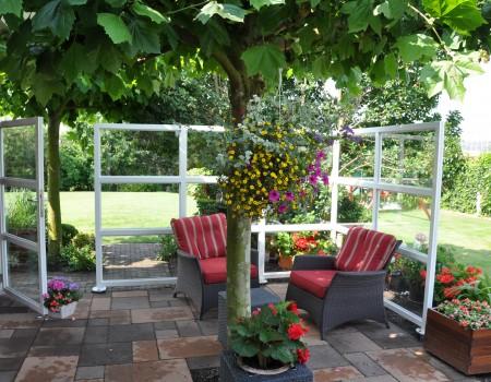 Terras- en balkonschermen