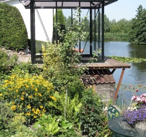 Prieel tuinhuis