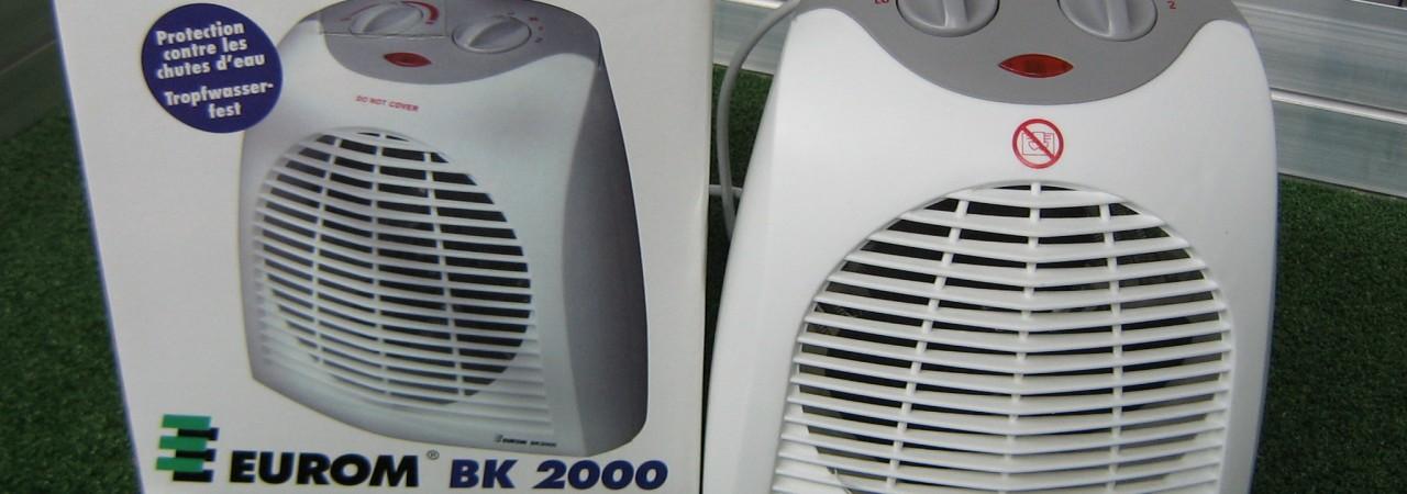 Elektrische kachel – 2000 Watt
