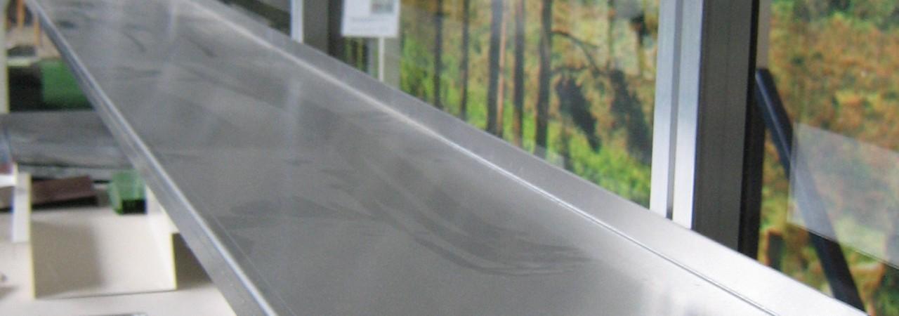 Aluminium schap
