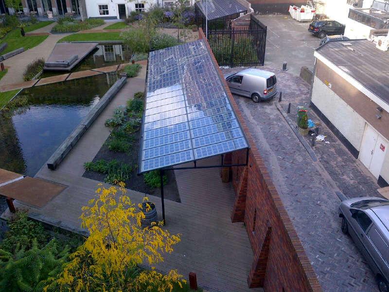 Solar veranda