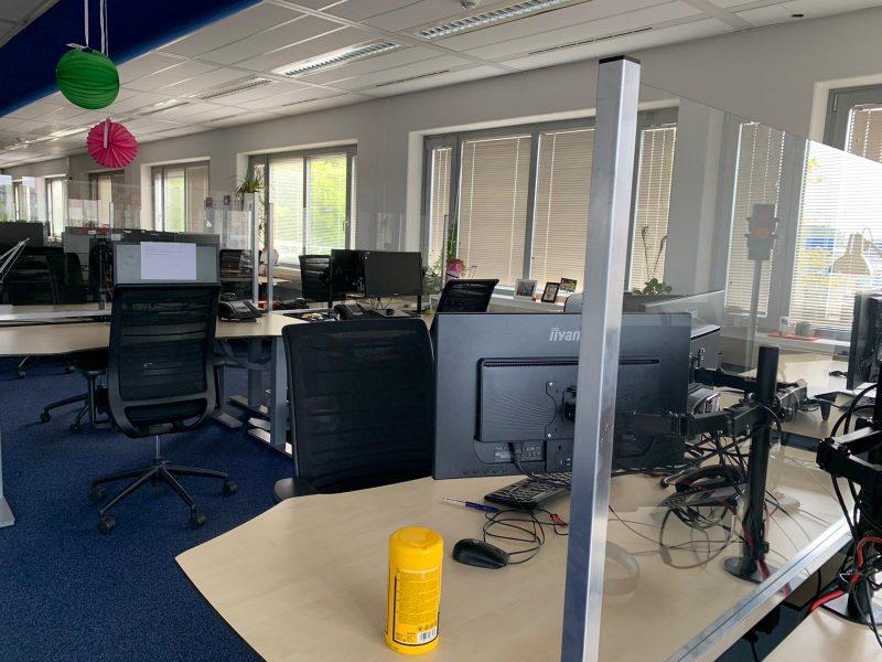 Corona scherm Den Haag