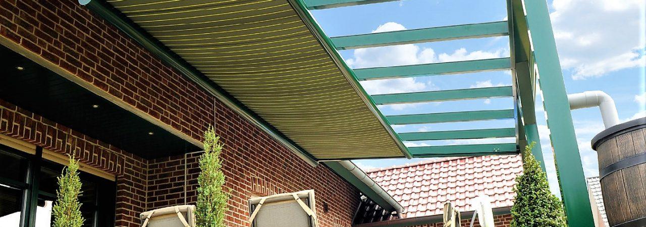 Zonwering onder het dak